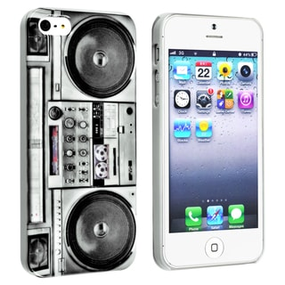 INSTEN Old Player Rear Snap-on Phone Case Cover for Apple iPhone 5/ 5S