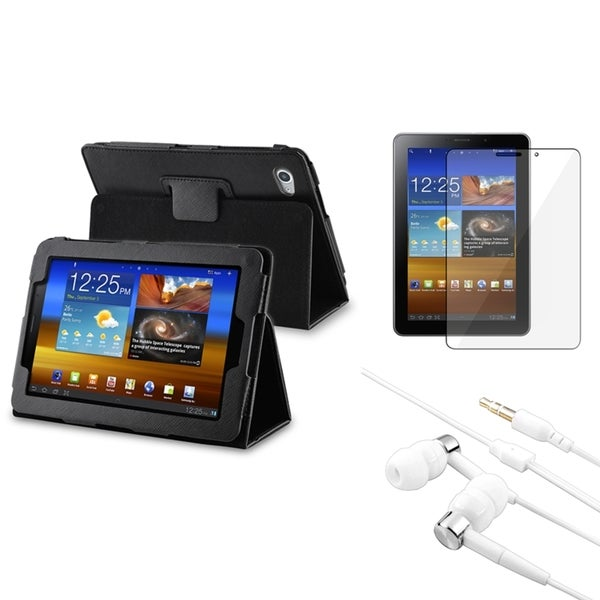 BasAcc Case/ LCD Protector/ Headset for Samsung Galaxy Tab 7.7 P6810