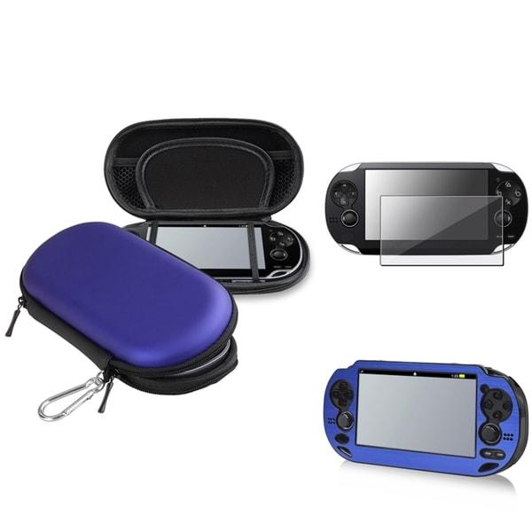 PS Vita - BasAcc Aluminum Case/ Eva Case/ Protector
