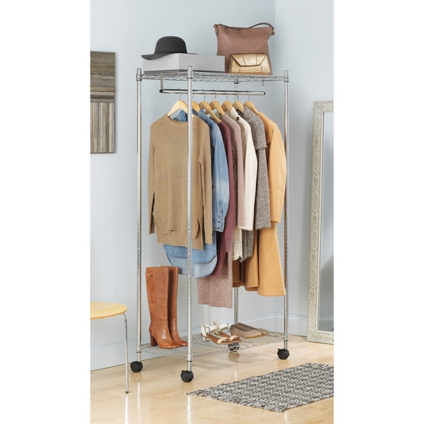 Whitmor 6058 90 Chrome Supreme Garment Rack
