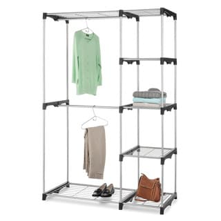 Whitmor Tall Deluxe Double Rod Closet