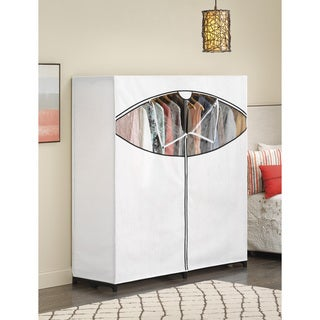 Whitmor 6822-167-B Extra Wide Garment RackCloset with Cover