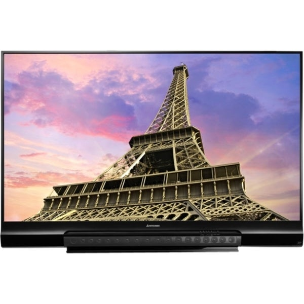 mitsubishi 73 1080p 120hz dlp tv price