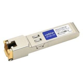 AddOn Avago ABCU-5710RZ Compatible TAA Compliant 1000Base-TX SFP Tran