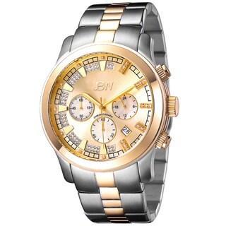 JBW Men's JB-6218-C Two-Tone Steel 'Delano' Chronograph Watch