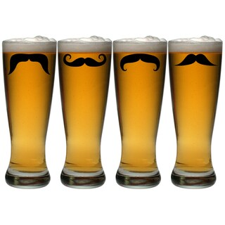 Moustache Grand Pilsners, 20-oz, Set of 4