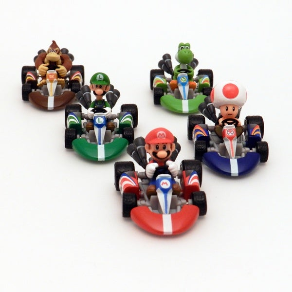 Mario Kart Diecast 5-pack Collection