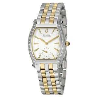 Bulova Accutron Women's Gold-plated Steel 'Saleya' Watch