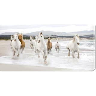 Global Gallery Zero Creative Studio 'Horses on the Beach (detail)' Stretched Canvas Art|https://ak1.ostkcdn.com/images/products/7568548/7568548/Zero-Creative-Studio-Horses-on-the-Beach-detail-Stretched-Canvas-Art-P14998360.jpeg?impolicy=medium