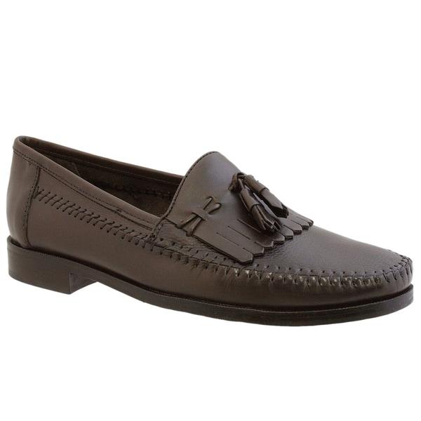 Giorgio Brutini Men's 'Le Glove' Brown Loafers