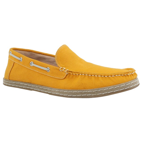 GBX Men's Mango Canvas Loafers