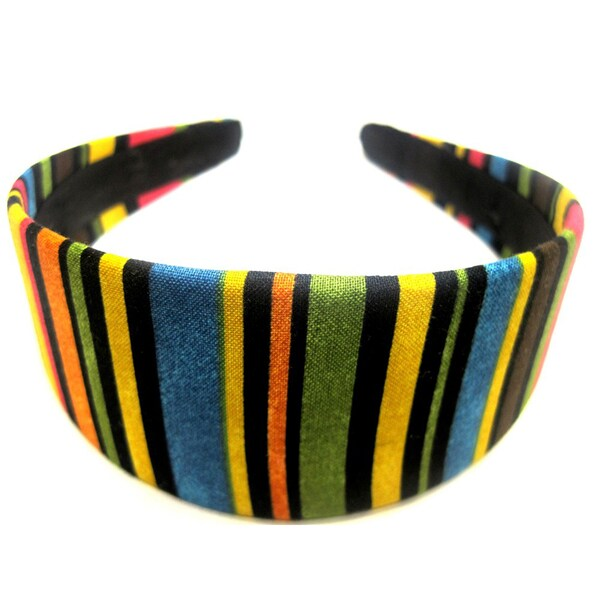 Crawford Corner Shop Multi Colored Striped Headband