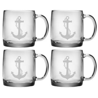 Anchor Collection Coffee Mugs (Set of 4)