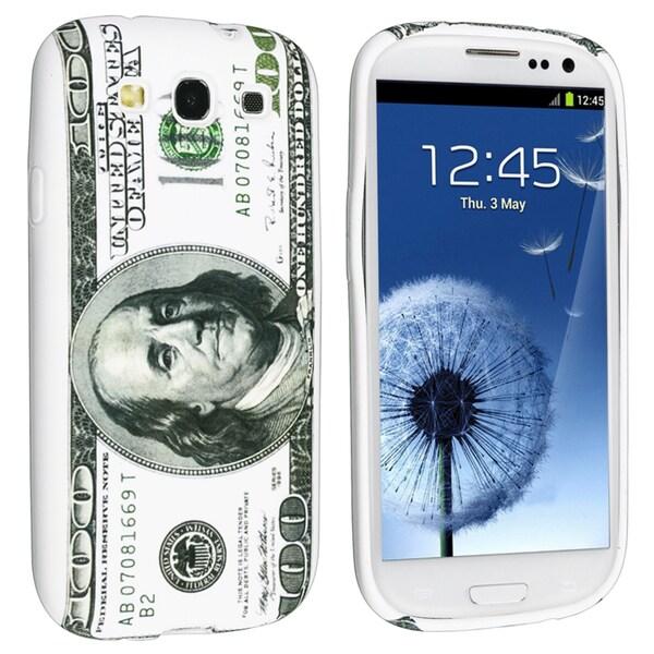 BasAcc Hundred Dollar TPU Case for Samsung Galaxy S III/ S3 i9300