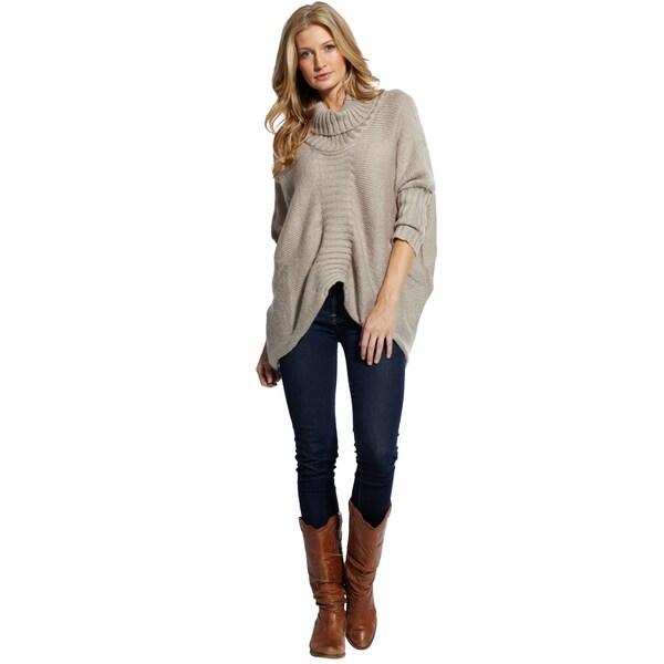 Elan Women's Turtleneck Knit Sweater