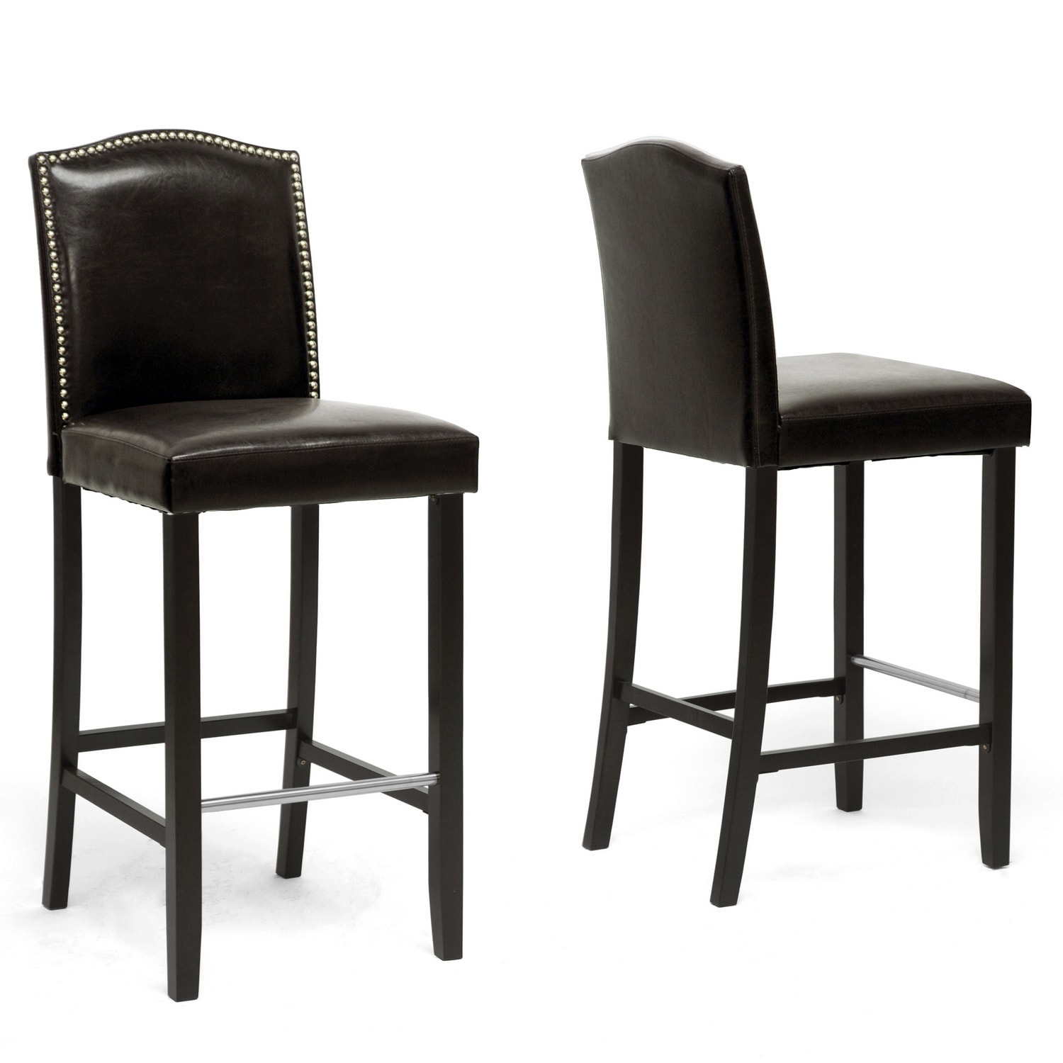 Copper Grove Checleset Traditional Faux Leather 30 Inch Bar Stool Ebay