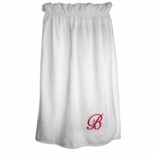 Ladies Monogram Cotton Bath Body Wrap