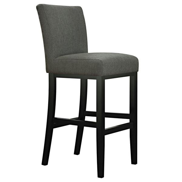Handy Living Orion Basil Green Linen Upholstered 29-inch Bar Stool