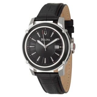 Bulova Men's 98B160 Stainless Steel Date Watch