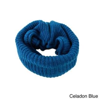 LA77 Knit Infinity Loop Scarf
