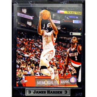 Encore Select Houston Rockets James Harden Photo Plaque (9x12)