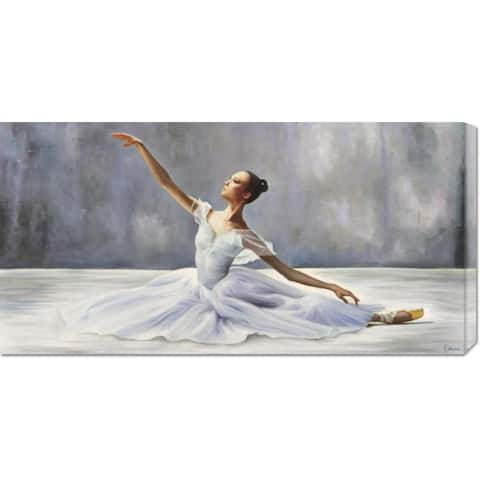 Global Gallery Pierre Benson 'Ballerina' Stretched Canvas Art