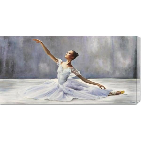 Big Canvas Co. Pierre Benson 'Ballerina' Stretched Canvas Art