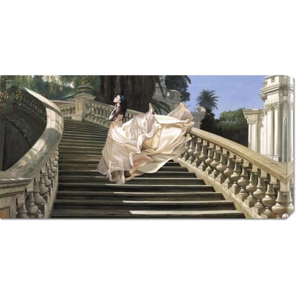 Big Canvas Co. Pierre Benson 'Scala Classica' Stretched Canvas Art
