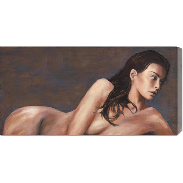 Global Gallery Van Haal 'Light' Stretched Canvas Art