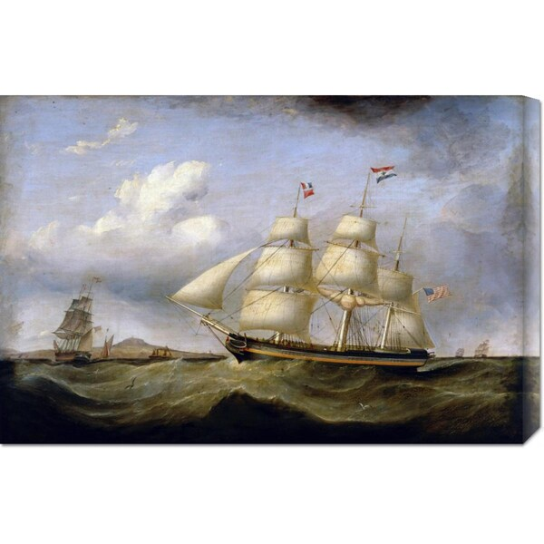 Big Canvas Co. Samuel Walters 'Hark Away' Stretched Canvas Art