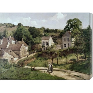 Big Canvas Co. Camille Pissarro 'Country Road' Stretched Canvas Art