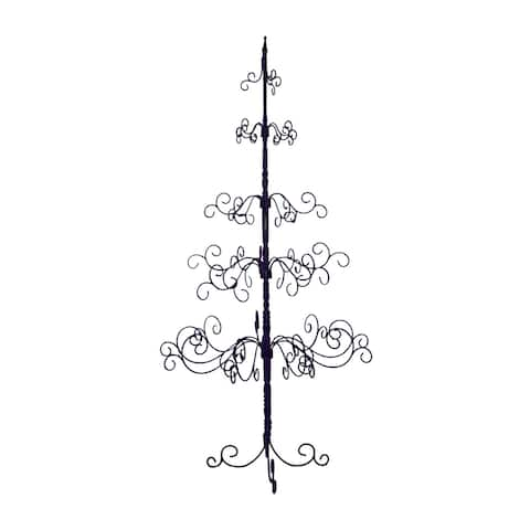 Patch Magic Black 7-foot Christmas Tree