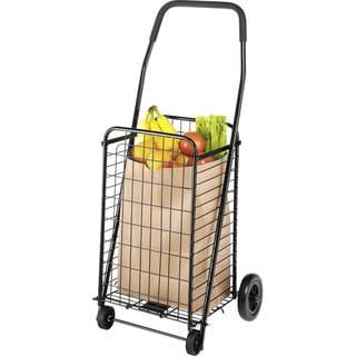 Shop Whitmor Black Rolling Utility Cart Free Shipping On