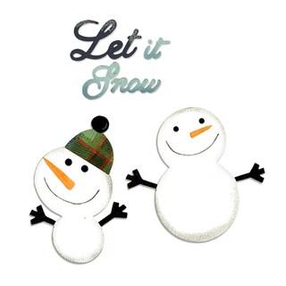 Sizzix Bigz 'Snowmen & Let it Snow' Die