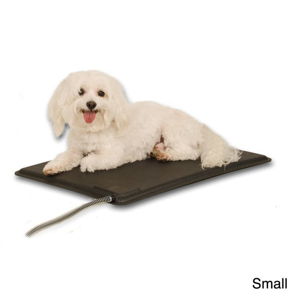 Shop K Amp H Mfg Lectro Kennel Outdoor Heated Dog Pad W