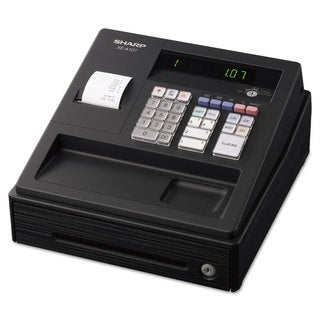 Sharp XE A107 Cash Register Drum Printer 80 Lookups 4 Clerks LED