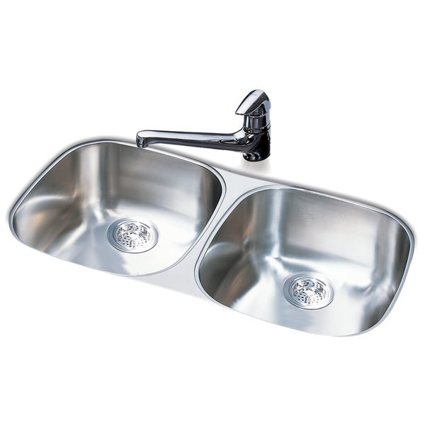 Franke Double Bowl Stainless Steel Undermount Sink