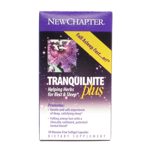 New Chapter Tranquilnite (30 Softgels)