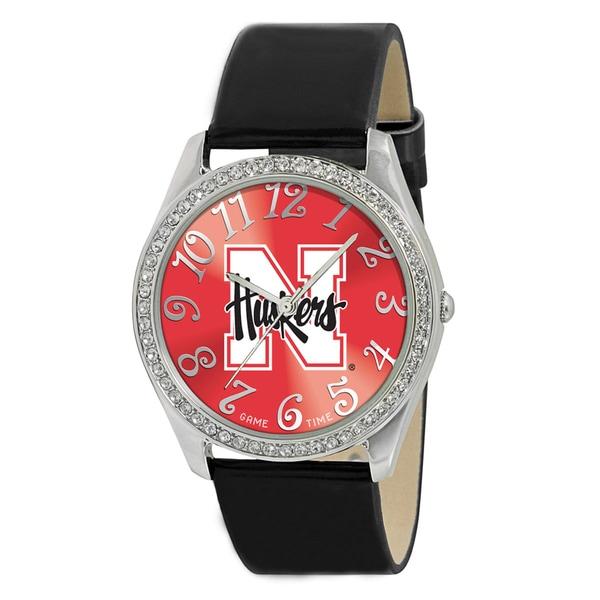NCAA Women's Glitz Classic Analog Patent Leather Watch