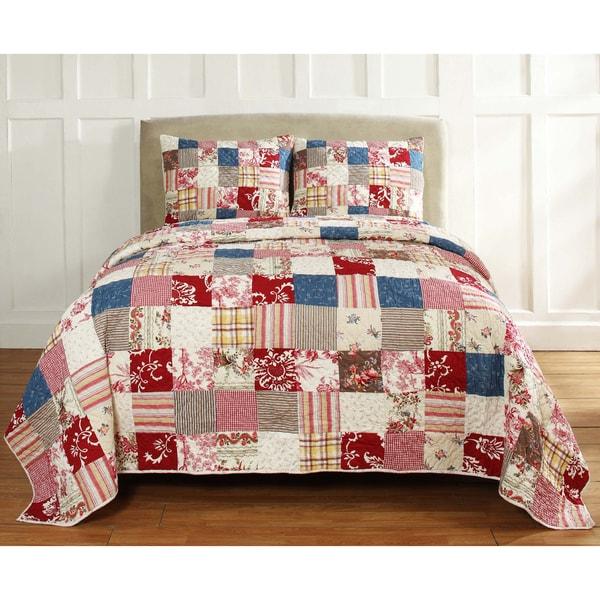 Ariana Handmade Patchwork 3-piece Quilt Set