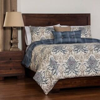 Genoa Reversable Duvet Cover Set: Comforter Insert included