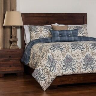Havenside Home Okaloosa Reversable Duvet Cover Set with Comforter Insert