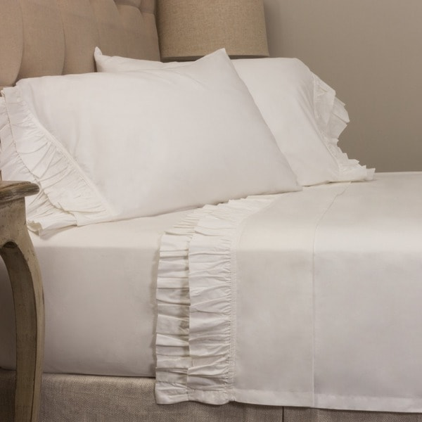 French Ruffle Sheet Set