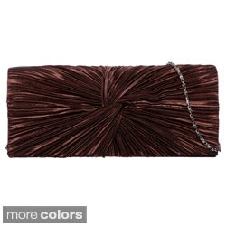 J. Furmani Satin Flap Clutch (5 options available)