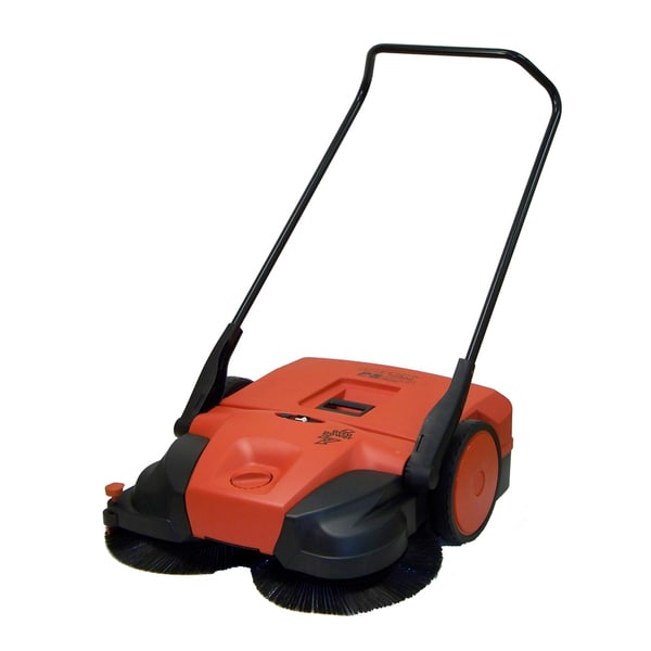 Oreck Battery Powered Push Power Sweeper Free Shipping