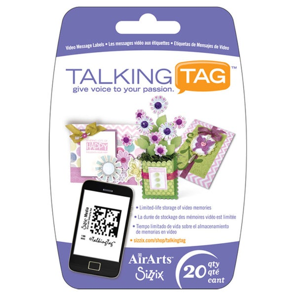 Sizzix TalkingTag Video Message Labels (20 Pack)