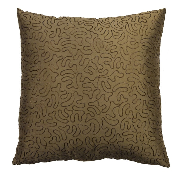 Rose Tree Alexandria Embroidered Decorative Pillow