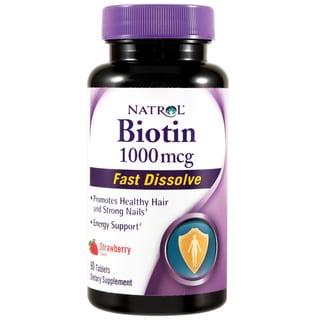 Natrol Biotin 1000mcg Fast Dissolve (90 Tablets)