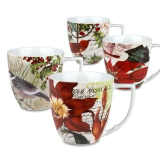 Waechtersbach 'Assorted' Accents Tradition Mugs (Set of 4)