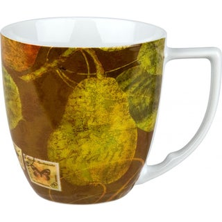 Waechtersbach 'Pears' Accents Nature Mugs (Set of 4)